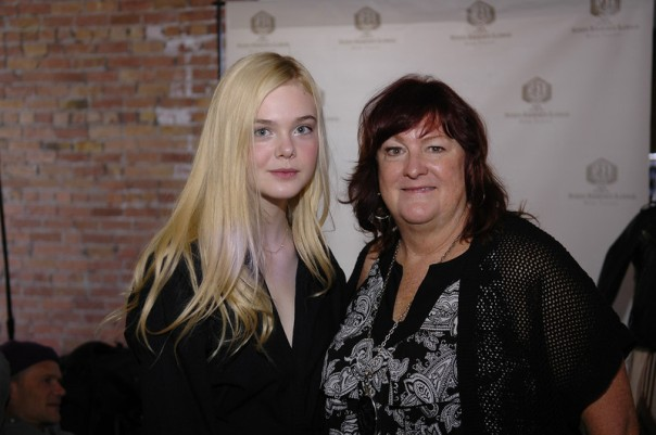 Deb Durkin and Elle Fanning