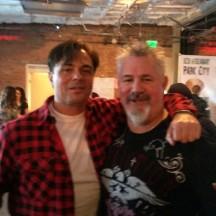 Tom DeSantos producer of Transformers and X Men  xmen  transfomers w Steve Hester